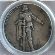 【德藏】瑞士1897年伯尔尼射击节银章 PCGS SP64