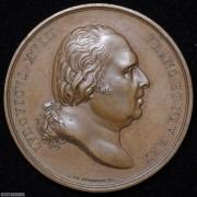 【德藏】法国路易十八安德里厄孔代王子的葬礼大铜章