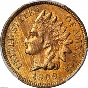 PCGS-MS64 1909-S Indian Head Cent
