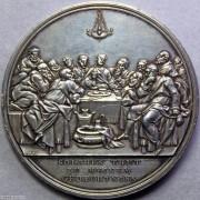UNC 1800年最后的晚餐银章