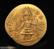 印度萨珊王朝仿贵霜金币-韦苏提婆一世