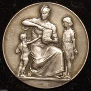 【德藏】德国1915年一战期间面包分发银章