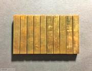 精铜袖珍--古钱拓片辅助印 10方/套
