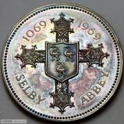 1969年英国塞尔比修道院900周年银章