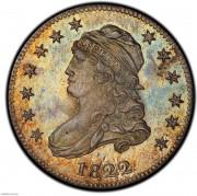 PCGS-PR65 1822 Capped Bust Quarter