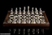 班牙纯银国际象棋