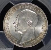 【德藏专卖】德国1900年奥登堡2马克 MS63 稀少