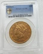PCGS AU50 美国自由女神鹰1898-S年20元大金币33.43克900金 07928