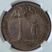 【德藏】瑞士1802年伯尔尼学院银质奖章 NGC MS64+
