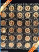 2016年熊猫金币发行35周年友好使者马丁先生三色铜章常规款单枚