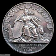 【德藏】瑞士1892年苏黎世射击节大银章