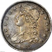 PCGS AU53 1835 Capped Bust Quarter