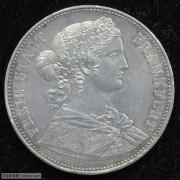 【德藏专卖】德国1864年法兰克福少女泰勒 UNC