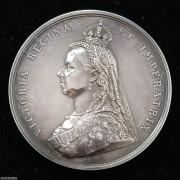 【德藏】英国1887年维多利亚登基50周年纪念大银章