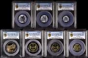 1986年精制套装流通硬币