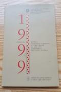 ★奖★意大利1999年千禧年纪念银币套装