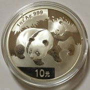 2008年熊猫银币1盎司