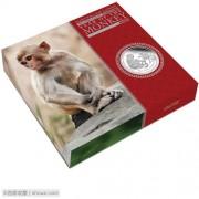 2016年 澳大利亚 生肖猴 30元 1公斤 精制银币 盒证齐全