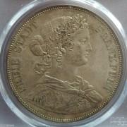 【德藏】德国1861年法兰克福少女2泰勒 PCGS MS64