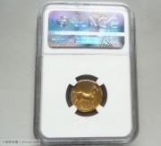 古希腊迦太基女神和马图金币 希腊罗马 打制币 古钱币 凝绿轩