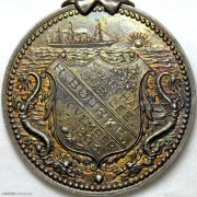 1893年上海开埠五十周年纪念银章