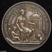 【德藏】法国1902年职业教育协会银章