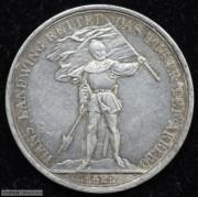 【德藏专卖】瑞士1869年楚格射击节5法郎