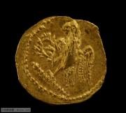 古罗马金币色雷斯地区科松国王和两个侍卫金币