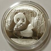 2015年熊猫银币1盎司