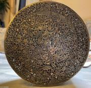 舊式通花雕刻銀盒