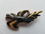 1888-1930年 日本金工 燕子飞舞图