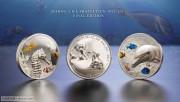 """帕劳2017年海洋动物保护系列纪念币最后一组""""关门币"""""""