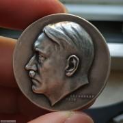 【德藏】德国1939年纳粹元首希特勒50大寿银章