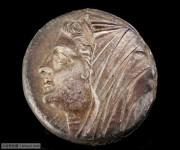 稀少的古希腊西西里岛叙拉古城希伦二世王后菲莉丝提大银币