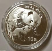 2004年熊猫银币1盎司