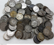 西班牙早期各种5比塞塔大银币160枚一起出