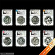 1989-2016年NPGS1盎司熊猫纪念银币熊猫标大全套(套199)