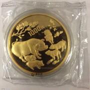 1995乙亥(猪)年生肖纪念金币 (非卖品-精品展示)