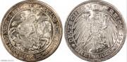 【德藏专卖】德国1915年普鲁士屠龙3马克 MS67