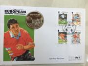 1996年 直布罗陀 欧洲杯 1克朗 邮币封克朗型