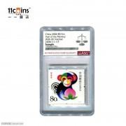 2004年ASG评级封装猴年生肖纪念邮票 sample