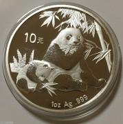 2007年熊猫银币1盎司