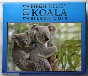 2012年澳大利亚1盎司加厚银币考拉