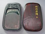 端州石砚 喜鹊登梅(木盒)