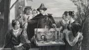 1850-1888 英国古董铜版画 大幅精品