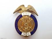 1910年 美国 圣地亚哥海军军校 大型军徽