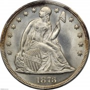 PCGS-MS65 1873 Liberty Seated Silver Dollar