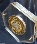 贝宁2002年欧元启动币中币镀金公斤银币