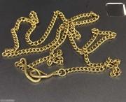 解放初 金链子 上海原金 足  长52厘米 17.96克