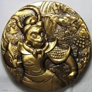 《大闹天宫》100mm金铜章